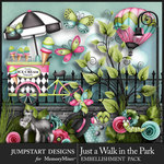 Just a Walk in the Park Add On Emb Pack-$3.99 (Jumpstart Designs)