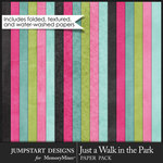 Just a Walk in the Park Plain Paper Pack-$3.99 (Jumpstart Designs)