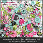 Just a Walk in the Park Embellishment Pack-$4.99 (Jumpstart Designs)
