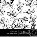 Fab Flourish Vol 1-$2.00 (Karen Lewis)