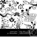 Fab Flourish Vol 2-$2.00 (Karen Lewis)
