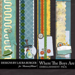 Where the Boys Are Borders Pack-$4.99 (Laura Burger)