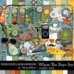 Where the Boys Are Combo Pack-$7.99 (Laura Burger)