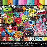 My Memories June Combo Pack-$7.99 (Laura Burger)