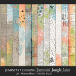Jammin Jungle Juice Newsprint Paper Pack-$3.99 (Jumpstart Designs)