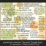 Jammin Jungle Juice Party WordArt Pack-$2.80 (Jumpstart Designs)