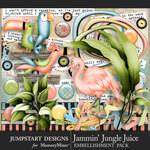 Jammin Jungle Juice Spare Parts Pack-$4.99 (Jumpstart Designs)
