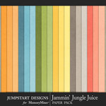 Jammin Jungle Juice Solid Paper Pack-$3.99 (Jumpstart Designs)