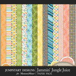 Jammin Jungle Juice Pattern Paper Pack 1-$3.99 (Jumpstart Designs)