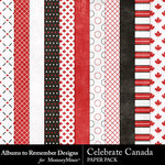 Celebrate Canada Paper Pack-$1.99 (Albums to Remember)