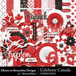 Celebrate Canada Combo Pack-$4.99 (Albums to Remember)