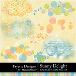 Sunny Delight Background Fancies-$3.99 (Fayette Designs)