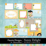 Sunny Delight Journal Cards Pack-$3.99 (Fayette Designs)