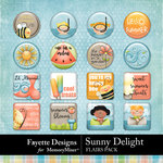 Sunny Delight Flairs Pack-$3.49 (Fayette Designs)