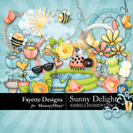 Sunny Delight Embellishment Pack-$5.99 (Fayette Designs)
