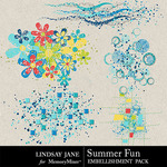 Summer Fun Scatterz Pack-$1.99 (Lindsay Jane)