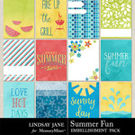 Summer Fun Journal Cards-$1.99 (Lindsay Jane)