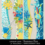 Summer Fun Borders Pack-$1.99 (Lindsay Jane)