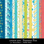 Summer Fun Paper Pack-$2.49 (Lindsay Jane)
