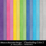 Cheerleading Color 2 Paper Pack-$1.99 (Albums to Remember)