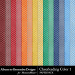 Cheerleading Color 1 Paper Pack-$1.99 (Albums to Remember)