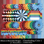 Cheerleading Color 1 Combo Pack-$2.99 (Albums to Remember)