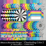 Cheerleading Color 2 Combo Pack-$2.99 (Albums to Remember)