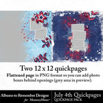 July 4th QuickPages-$1.99 (Albums to Remember)