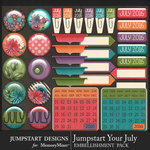 Jumpstart Your July Flair Pack-$3.99 (Jumpstart Designs)