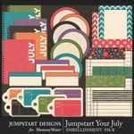 Jumpstart Your July Journal Pack-$3.99 (Jumpstart Designs)
