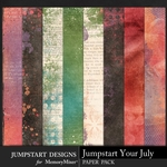 Jumpstart Your July Art Paper Pack-$2.80 (Jumpstart Designs)