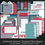 Jumpstart Your August Journal Pack-$3.99 (Jumpstart Designs)