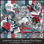 Jumpstart Your August Combo Pack-$7.99 (Jumpstart Designs)