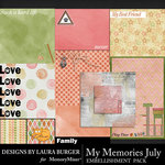 My Memories July Pocket Pieces-$3.99 (Laura Burger)