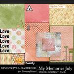 My Memories July Pocket Pieces-$3.99 (Laura Burger)