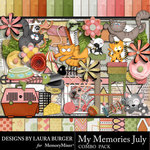 My Memories July Combo Pack-$7.99 (Laura Burger)