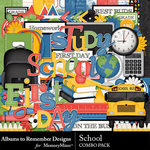 School ATR Combo Pack-$2.40 (Albums to Remember)