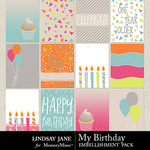 My Birthday Journal Cards Pack-$1.99 (Lindsay Jane)