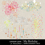 My Birthday Scatterz Pack-$1.40 (Lindsay Jane)
