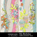 My Birthday Borders Pack-$1.40 (Lindsay Jane)
