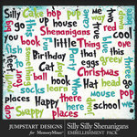 Silly Shenanigans Silly Words Pack-$2.80 (Jumpstart Designs)