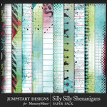 Silly Shenanigans Silly Paper Pack-$3.99 (Jumpstart Designs)