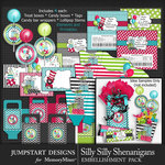 Silly Shenanigans Party Favors Pack-$4.99 (Jumpstart Designs)