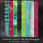 Silly Shenanigans Blended Paper Pack-$3.99 (Jumpstart Designs)