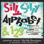 Silly Shenanigans Alphabet Pack-$3.50 (Jumpstart Designs)