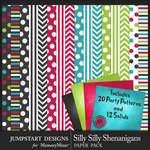Silly Shenanigans Party Paper Pack-$3.99 (Jumpstart Designs)