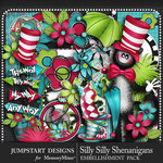 Silly Shenanigans Embellishments Pack-$4.99 (Jumpstart Designs)