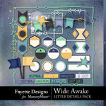 Wide Awake LIttle Details Pack-$2.80 (Fayette Designs)