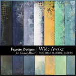 Wide Awake Hotmess Blended Papers-$3.99 (Fayette Designs)