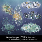 Wide Awake Background Fancies Pack-$2.80 (Fayette Designs)